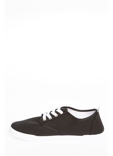 DeFacto Bağcıklı Sneaker Siyah